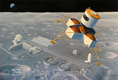 LUNAR COLONY, DON GILLESPIE