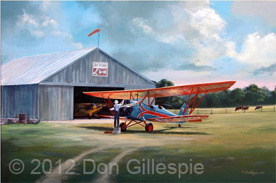 BARNSTORMER, D25 STANDARD, JOHNNY JOHNSON, DON GILLESPIE