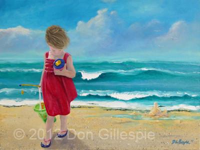 SAND CASTEL, BEACH, DON GILLESPIE