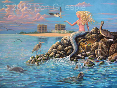 MERMAID, SUNSET BEACH, MANSIONS BY THE SEA, SUNSET BEACH FL