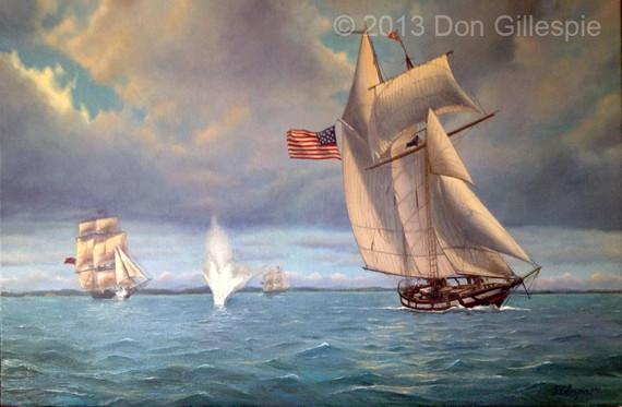Privateer, Lynx, War of 1812