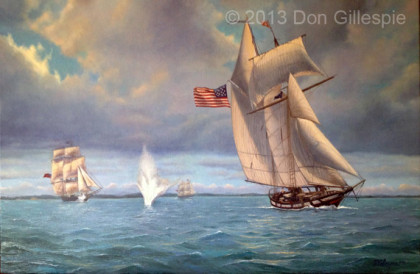 Americas Privateer Lynx, the war of 1812
