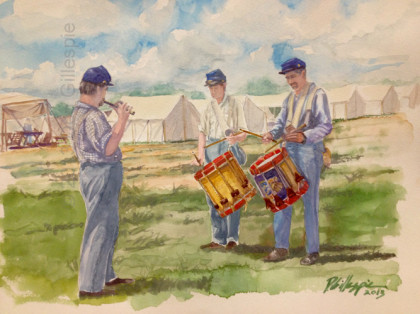 Civil War Drummers, Don Gillespie