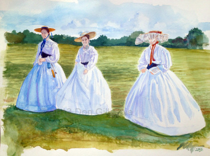 Don Gillespie Paintings, Gettysburg