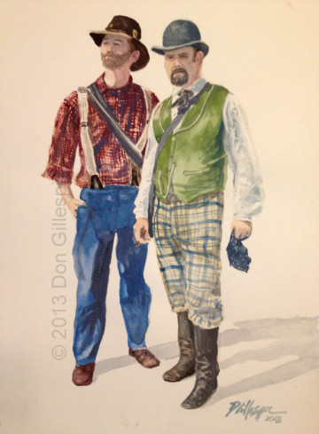 Gangs of New York, Civil War, Gettysburg, Paintings by Don Gillespie