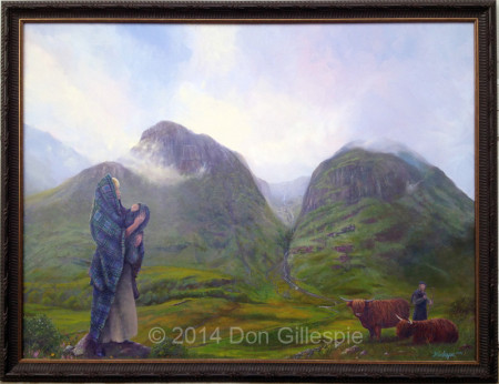Glencoe, New World Celts