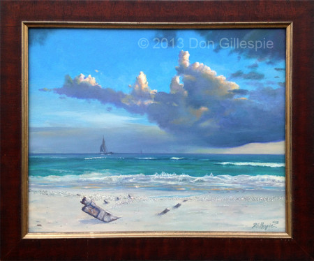 Don Gillespie Paintings, Marine Art, Ship Wreck