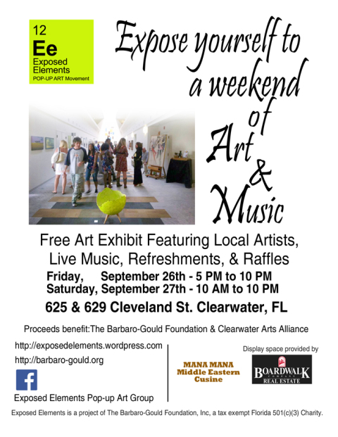 Exposed Elements Art Show 2014