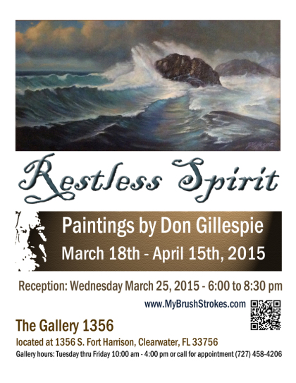 Restless Spirit, Paintings by Don Gillespie
